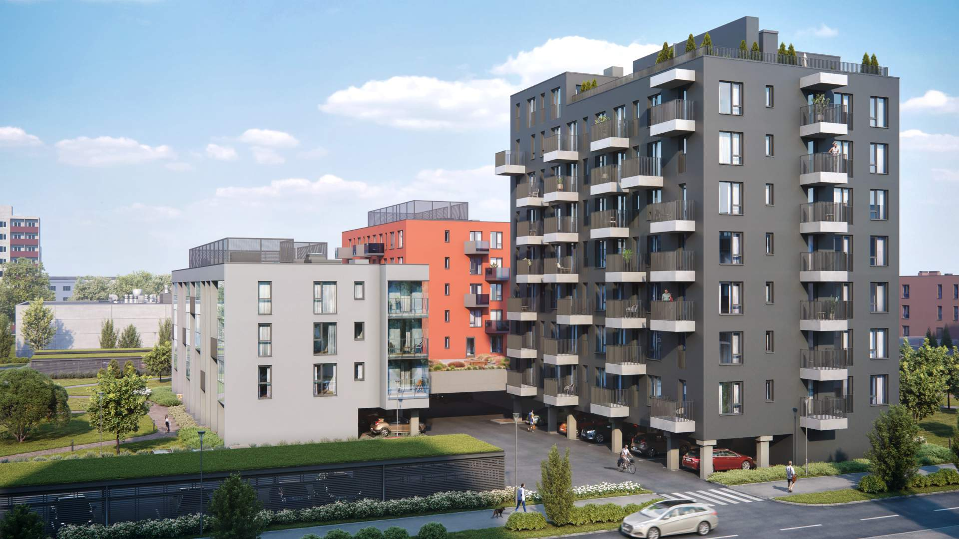 Uus-Mustamäe smart homes